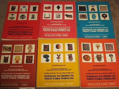 6 Pictorial Price Guide To American Antiques 1079-1993