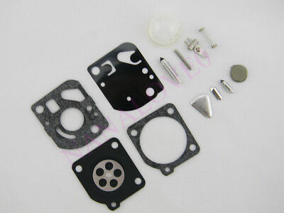 Carburettor Rebuild Kit for Poulan Weed Eater trimmers Blowers Zama RB-47 Carby