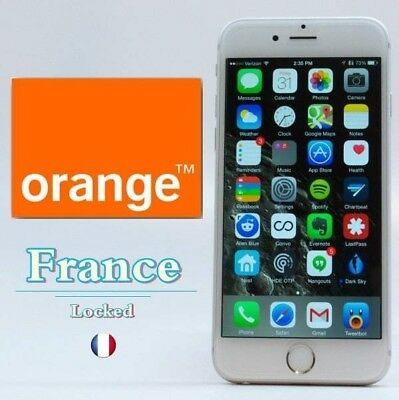 Unlock service for All Clean IMEI Apple iPhone models. Orange France only.