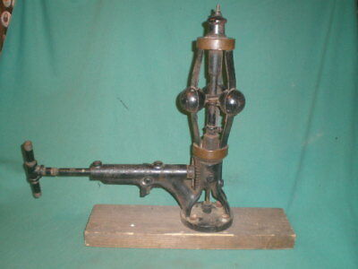 Pat'd 1865 The Pickering Portland, Conn Hit Miss Steam Engine 3 Flyball Governor