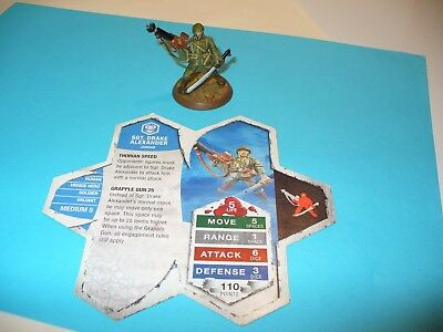 Sgt Drake Alexander - Heroscape - Rise of the Valkyrie - Free Shipping Available