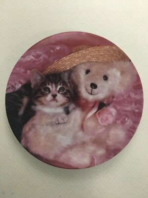 """The Crestley Collection """"Everyone Needs A Teddy"""" Plate 1993"""