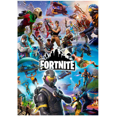 Fortnite Poster | Wall Art Game Posters | Boys Girls | A4 or A3 size | 200gsm