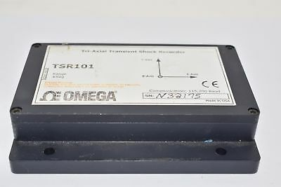 Omega TSR101 Tri-Axial Transient Shock Data Logger Module