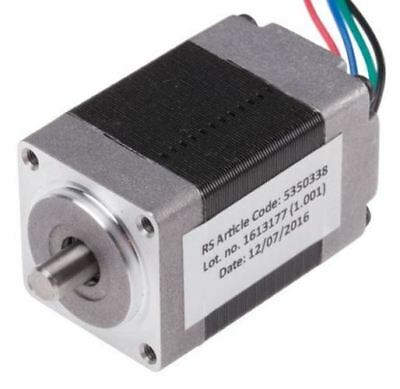 Rs pro Hybrid, Permanent Magnet Schrittmotor 1.8°, 17.5mNm, 3.96 V, 600 Ma, 4