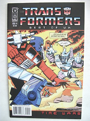 Transformers Best Of Uk: Time Wars # 5 (First Print, R1 Cover, Dec 2008), Nm/mt