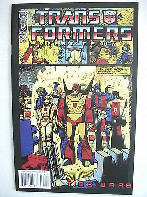 Transformers Best Of Uk: Time Wars # 3 (First Print, R1 Cover, Oct 2008), Nm/mt