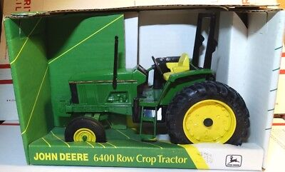 Ertl JOHN DEERE 6400 Row Crop Tractor in Box 1/16 scale USA