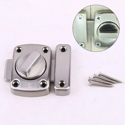 1x Bathroom Door Lock Chrome Or Brass Toilet Turn Twist Bolt Privacy Catch Latch