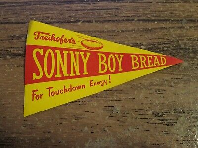 vintage Freihofer's SONNY BOY BREAD decal / label