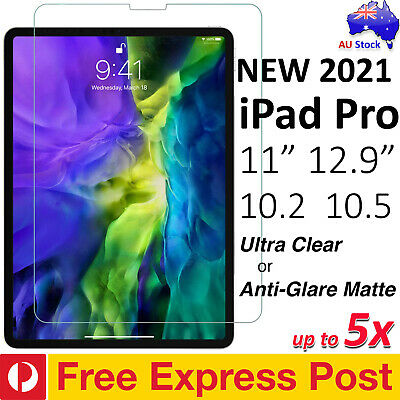 """[FREE EXPRESS] Ultra Clear or Matte Screen Protector for iPad Pro 11"""" 12.9"""" 10.5"""
