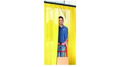 "Aleco AirFlex Polyester Mesh Insect Barrier Curtain Kit 96"" H - 48"" Door Opening"