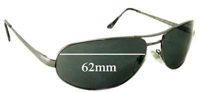e5117dfb65 SFX REPLACEMENT SUNGLASS Lenses fits Persol 2407-S - 62mm wide ...