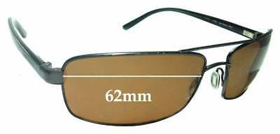 307d75ed9950 SFx Replacement Sunglass Lenses fits Serengeti San Remo 7607- 62mm wide
