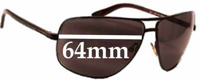 6ddc3d2d47d4d SFX REPLACEMENT SUNGLASS Lenses fits Tom Ford Aiden TF37 - 64mm wide ...