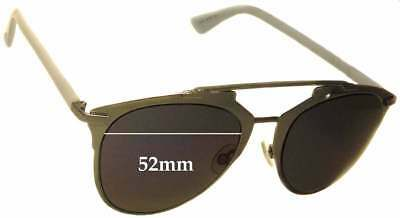 SFx Replacement Sunglass Lenses fits Christian Dior Reflected - 52mm Wide