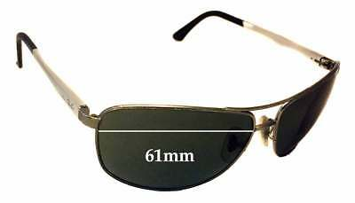 SFx Replacement Sunglass Lenses fits Ray Ban RB3506 - 61mm Wide