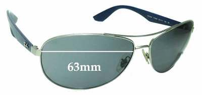 SFx Replacement Sunglass Lenses fits Ray Ban RB3526 - 63mm across