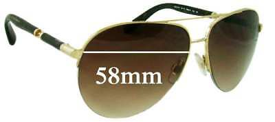 65de9dce386c0 SFx Replacement Sunglass Lenses fits Dolce  amp  Gabbana DG2115 - 58mm wide