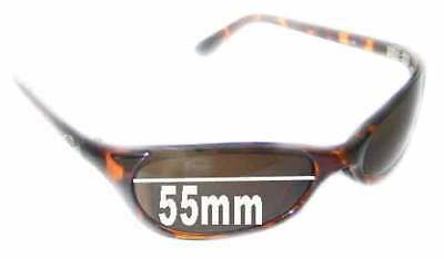 25d1faa621 SFx Replacement Sunglass Lenses fits Smith Toaster - 55mm wide