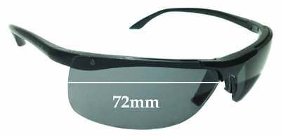 11bb02002b SFX REPLACEMENT SUNGLASS Lenses fits Ray Ban PS Hunter RB4038 - 65mm ...