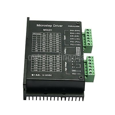 M542H 3A CNC Stepper Driver Controller 2 Phase 128 Microstep Subdivision sz/