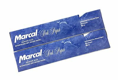marcal deli wrap interfolded wax paper dry waxed food liner senior