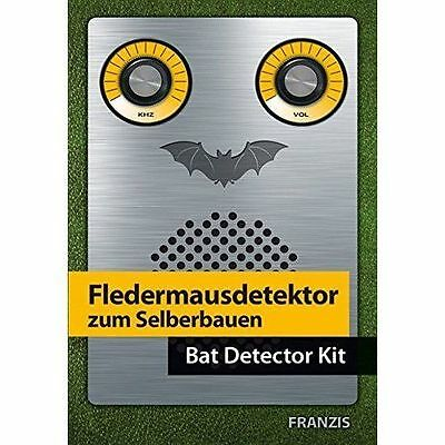 Franzis Make Your Own Bat Detector Kit & Manual - In Stock - NEW