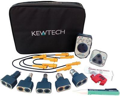 Kewtech KEWTK1 Test Kit inc R2, Lightmate, Patadaptor,  Kewstick, Kewlok, Jumpld