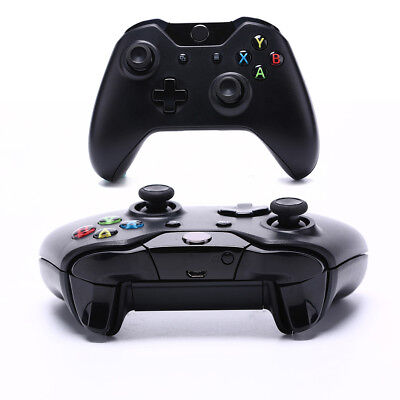 Bluetooth Wireless Games Controller Gamepad Joystick Microsoft Xbox One Black