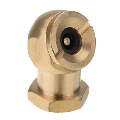 "Brass 1/4"" NPT Tyre Inflator Valve Connector Air Chuck Ball Tire Clip Chuck #Z"