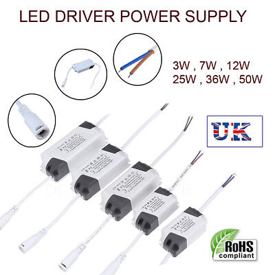 LED Adapter Constant Current Transformers Power Supply Drivers For LED Strips UK