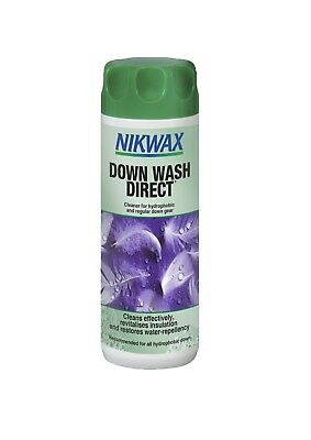 Nikwax Down Wash Direct For Down Filled Clothing Water Repellent 3 sizes