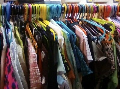 Whole Sale Joblot Of 50 Pieces Of Clothing