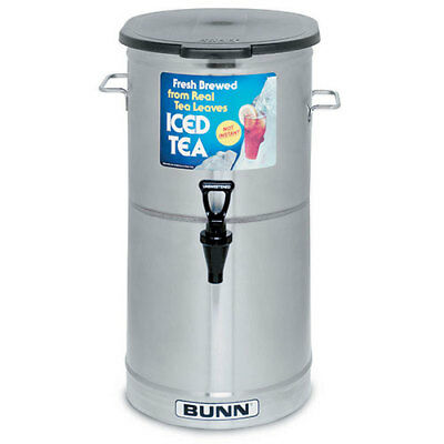 Iced Tea Dispenser 5 Gallon Capacity - Solid Lid