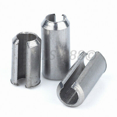 Spring Pins Split Tension Roll Pin A2 304 Stainless Steel M1.5 M2 M2.5 M3 M4