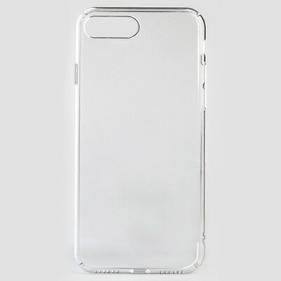 Slim full Crystal Transparent PC Hard Case back Cover for iPhone 8 7 6s 6 plus X