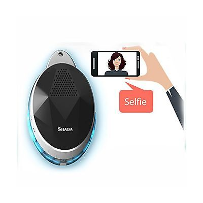 Wearable Speaker with neck strap, SHABA Smart Bluetooth Speaker with Selfie R...