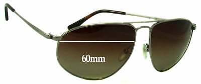 SFX Replacement Sunglass Lenses fits Tom Ford Alphonse TF195 60mm Wide