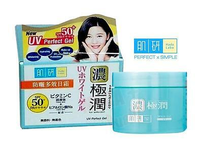 Hada Labo UV Perfect Gel SPF50+PA++++ 5 in 1 Whitening and Hydrating 12g