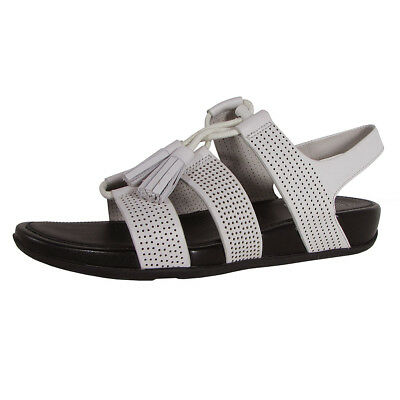 adab7082c0d2 FITFLOP WOMENS GLADDIE Lace Up Perforated Sandal Shoes