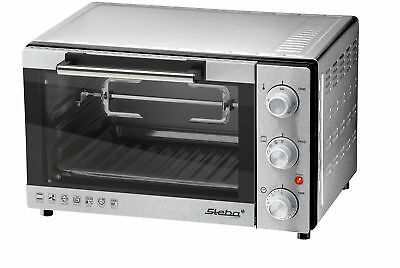 STEBA 43000 KB 23 Electric 23L 1500W Grey Grill and bake oven
