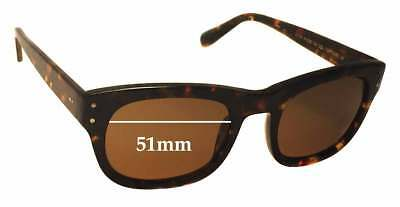 SFX Replacement Sunglass Lenses fits Colabs Highs and Lows HAL 58mm Wide