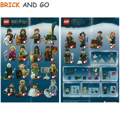 LEGO Figurine Minifigure 71022 Série Harry Potter Series Au Choix NEUF NEW