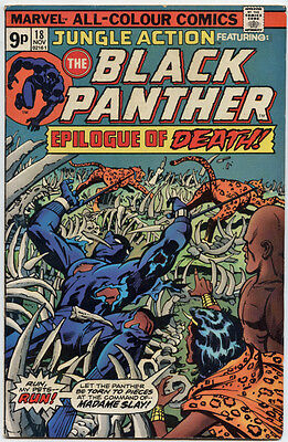 Jungle action 18 black panther . 1975 movie coming