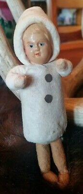 Antique Spun Cotton Doll Very Sweet
