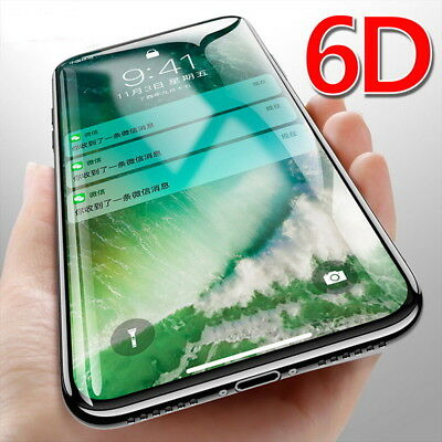 6D Coverage Tempered Glass Screen Protector For iPhone 11 Pro XS MAX XR 7 8 Plus
