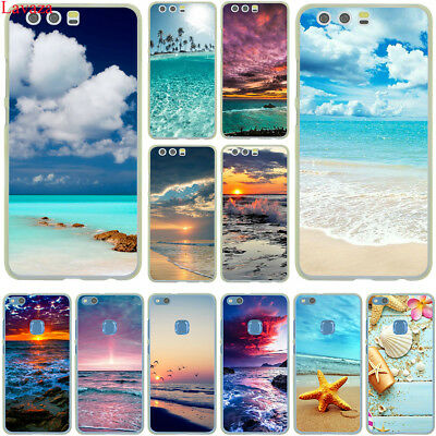 Sea Sky For Huawei P20 P10 P9 P8 Lite P Smart Mate 10 Lite Pro Case Cover