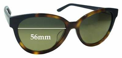 7bf00cb5bf SFx Replacement Sunglass Lenses fits Maui Jim MJ725 Sunshine STG-SG - 56mm  wide