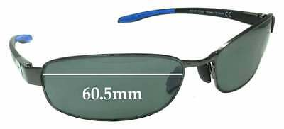 c4de761b8590d SFx Replacement Sunglass Lenses fits Maui Jim MJ741 Salt Air STG-BG - 60.5mm